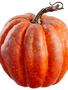 """6.75"""" Orange Speckled Pumpkin"""