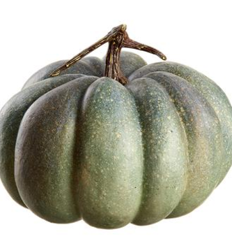 Green Gray Pumpkin