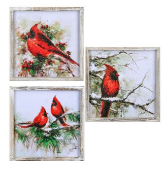 Winter Forest Cardinal Print (3-Styles)