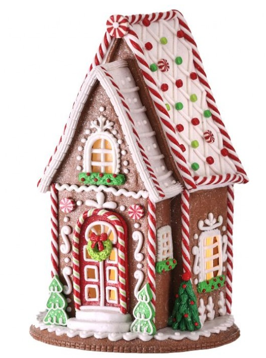 Tall Decorated Gingerbread House
