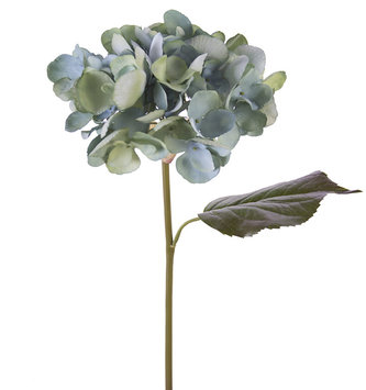 "22"" Large Water Color Hydrangea Light Blue"
