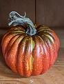 "5"" Harvest Vine Pumpkin"