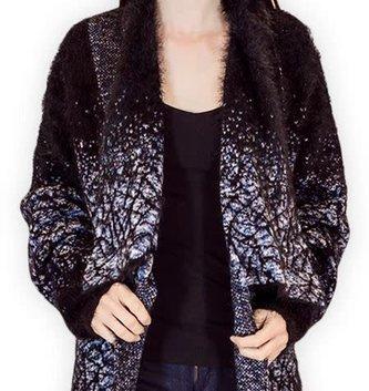 Palila Eyelash Sweater Cardigan