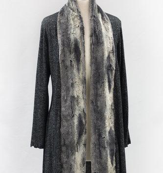 Aspen Fur Trimmed Cardigan (2-Colors)