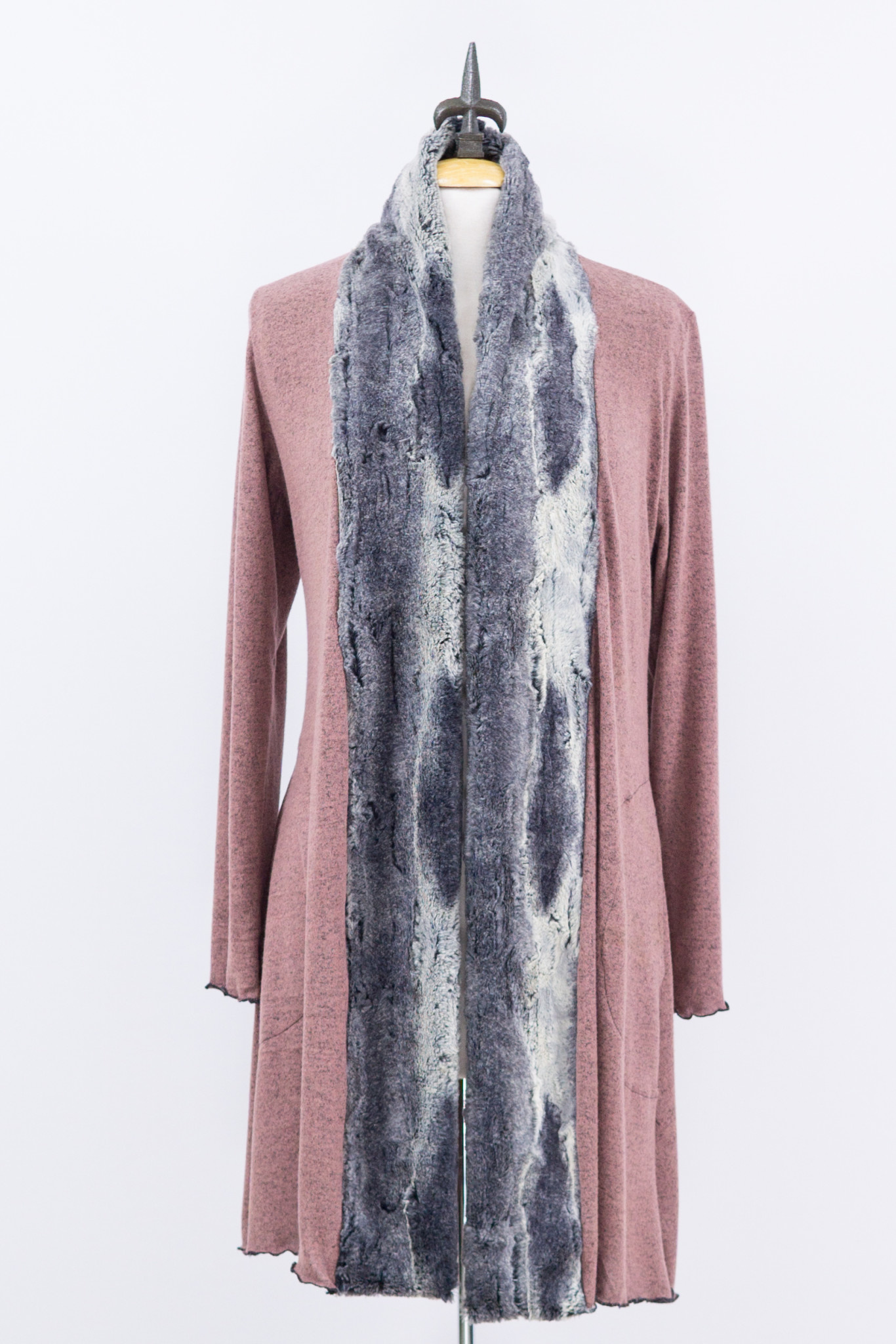 Aspen Fur Trimmed Cardigan
