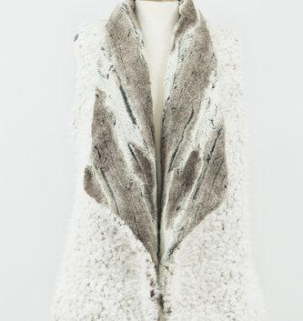 Bolder Reversible Fur Vest