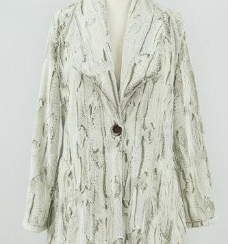 Snow Shoe Fur Button Jacket