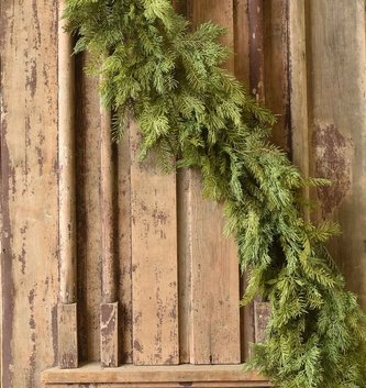 6-ft Mixed Cedar Pine Garland