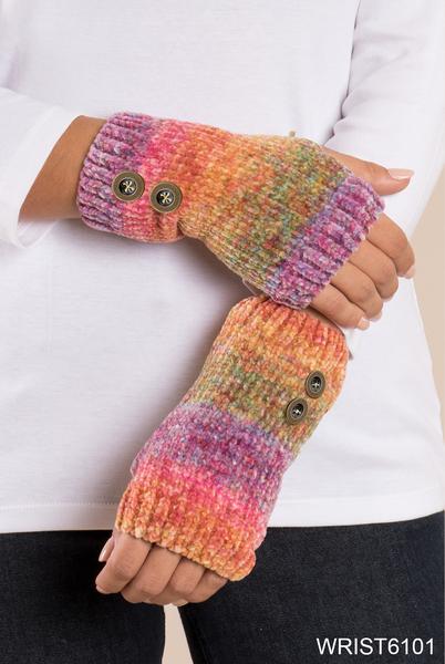 Simply Noelle Aurora Stripe Wrist Warmer (2-Colors)