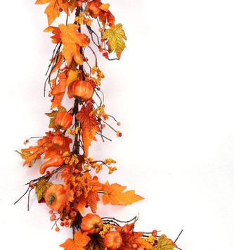 5-ft Pumpkin & Bittersweet Garland