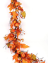 5-ft Pumpkin & Bittersweet Garland