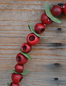 4-ft Country Berry Leaf Garland