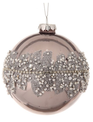 Pearl Encrusted Opulent Ball Ornament