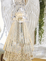 Swirling Angel LED Snowglobe