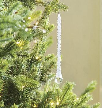 Iced Drop Ornament