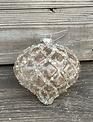 Elegant Diamond Frosted Ornament  (3-Styles)