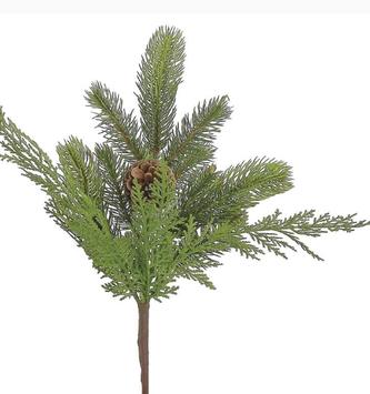 "14"" Pinecone & Cedar Pick"