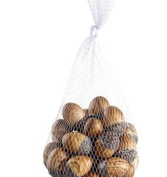 Bag of Wood Grain Acorns