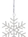 Rhinestone Sparkle Snowflake Ornament (3-Styles)