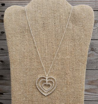 Dainty Triple Heart Necklace