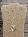 Dainty Triple Heart Necklace