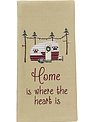 Home is Where Your Heart Is Camper Towel