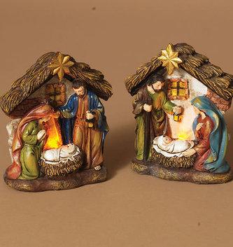 Battery Operated Mini Nativity (2-Styles)