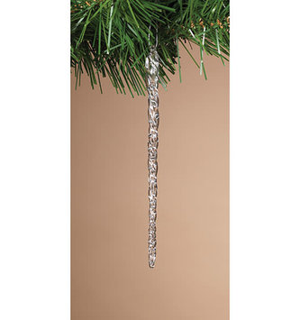 Pack of 20 Spun Glass Icicles (2-Sizes)