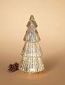 LED Mercury Glass Tree (2-Sizes)