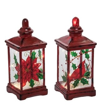 LED Red Miniature Lantern (2-Styles)