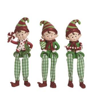 Jolly Elf Shelf Sitter (3-Styles)