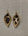 Cork Teardrop Earrings (3-Colors)