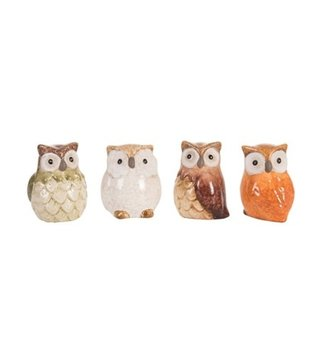 Mini Ceramic Owl (4-Styles)