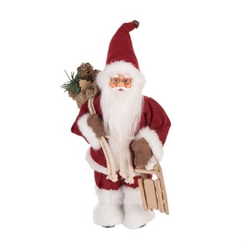 Tabletop Santa w/ Sled