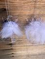 Glass Angel w/ Feathers (2-Styles)