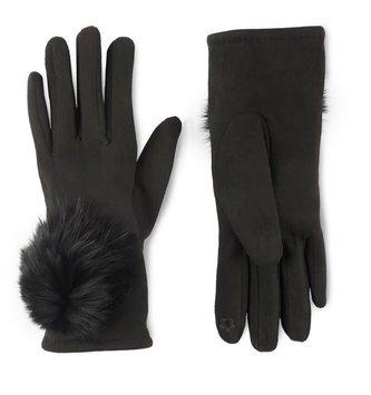 Microsuede Angora Touchscreen Gloves (2-Colors)