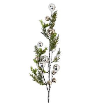Silver Bell Snowy Branch