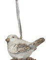 Glitter Bird on Pinecone Ornament (2-Styles)