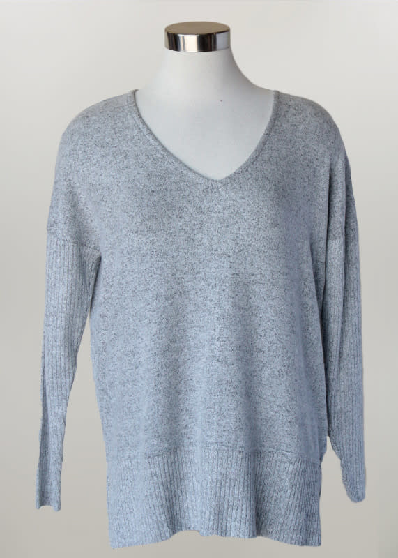 Knit Cozy Ribbed Tunic (3-Colors)