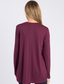 Simply Noelle Long Sleeve V-Neck Tunic (4-Colors)