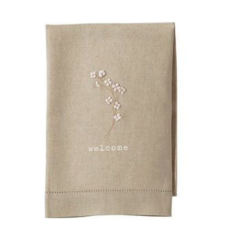 Cotton Welcome Tea Towel