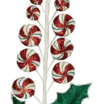Whimsical Peppermint Candy Spray