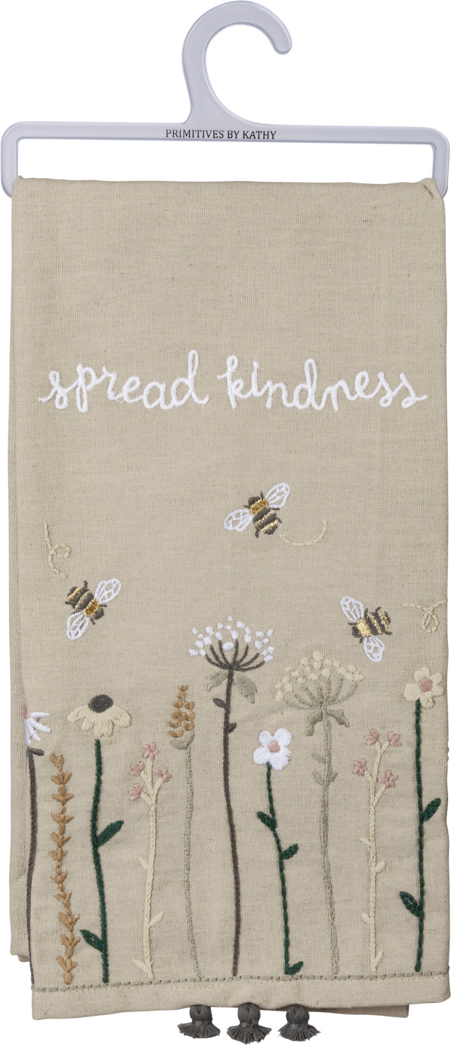 Embroidered Spread Kindness Towel