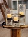 Medium Glass Cylinder With Insert