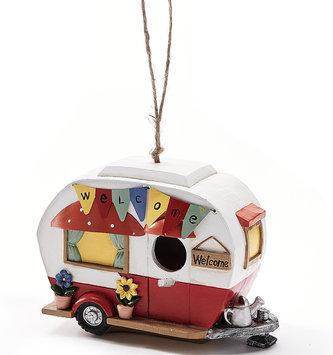Colorful Retro Camper Birdhouse