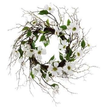 """30"""" Dogwood Twig Wreath"""