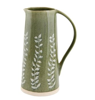 Ceramic Fern Pitcher