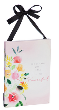 LED Inspirational Floral Canvas (3-Styles)
