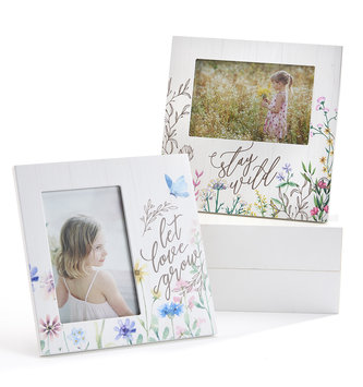 Square Floral Photo Frame (2-Styles)