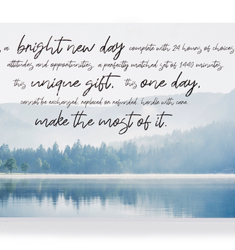 Bright New Day Sign